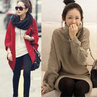 Thời trang ngày lạnh với áo len dáng dài