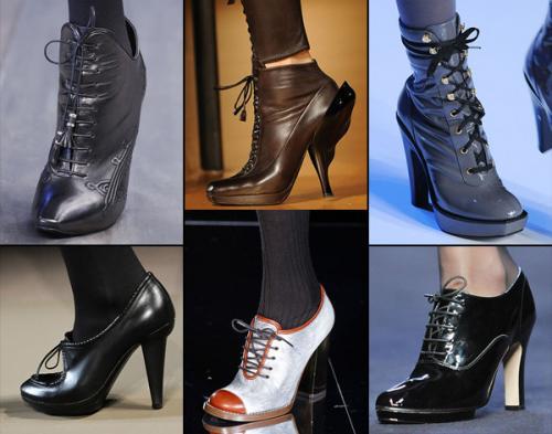 Sành điệu với giày bốt cột dây - 1