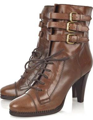 Sành điệu với giày bốt cột dây - 3