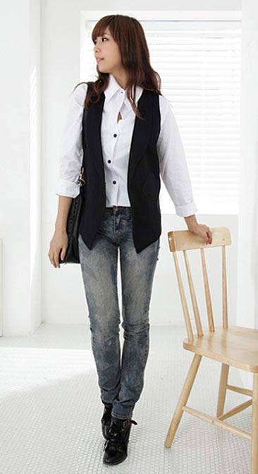 4 phong cách mặc đẹp với áo vest - 23