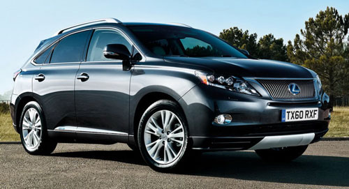 Công bố giá Lexus RX 450h SE-I 2011 - 1