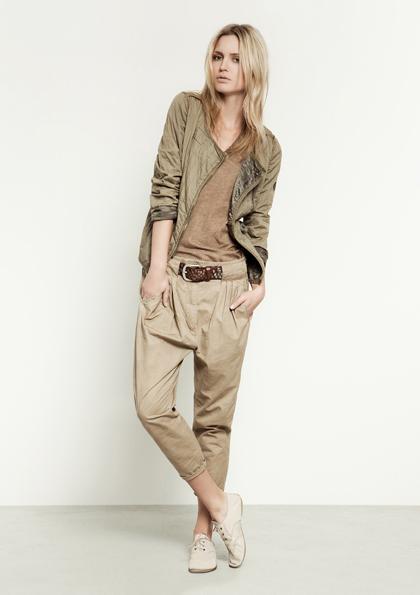 Kết hợp jeans và kaki phong cách - 2