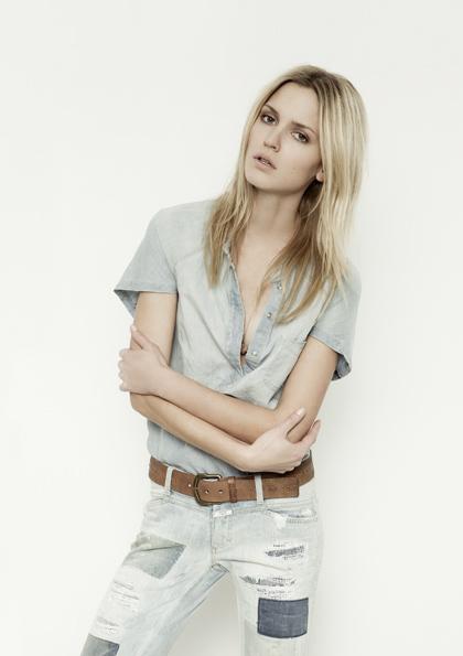 Kết hợp jeans và kaki phong cách - 3