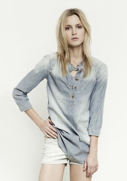 Kết hợp jeans và kaki phong cách - 1