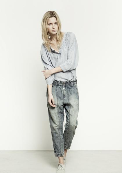 Kết hợp jeans và kaki phong cách - 4