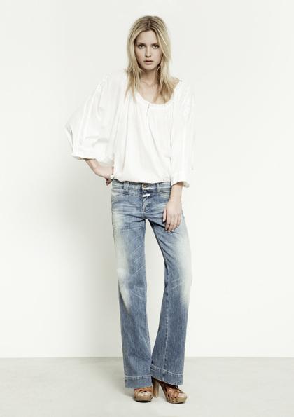 Kết hợp jeans và kaki phong cách - 14
