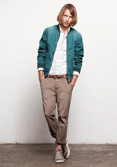 Kết hợp jeans và kaki phong cách - 21
