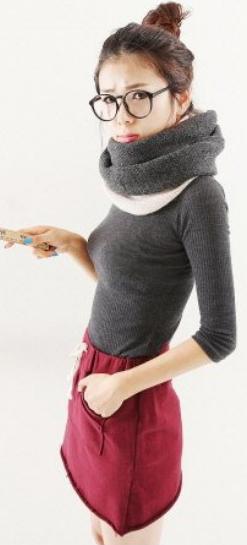 Những mẫu khăn ống đẹp nhất Đông 2011 - 1