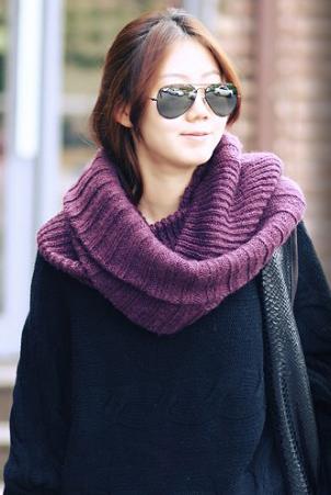 Những mẫu khăn ống đẹp nhất Đông 2011 - 3