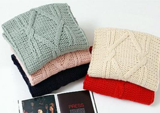 Những mẫu khăn ống đẹp nhất Đông 2011 - 2
