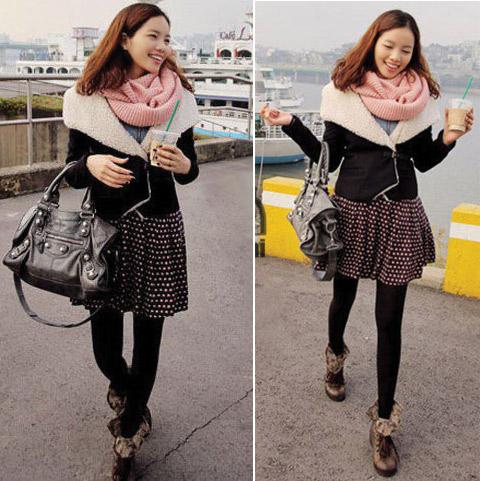 Những mẫu khăn ống đẹp nhất Đông 2011 - 5