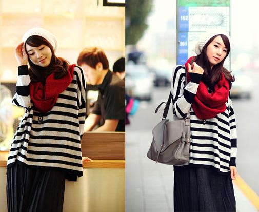 Những mẫu khăn ống đẹp nhất Đông 2011 - 6