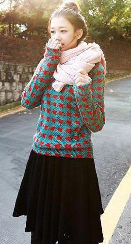 Những mẫu khăn ống đẹp nhất Đông 2011 - 7