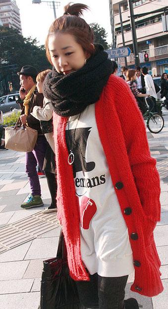 Những mẫu khăn ống đẹp nhất Đông 2011 - 10