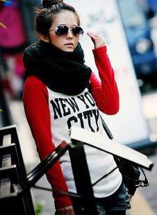 Những mẫu khăn ống đẹp nhất Đông 2011 - 9