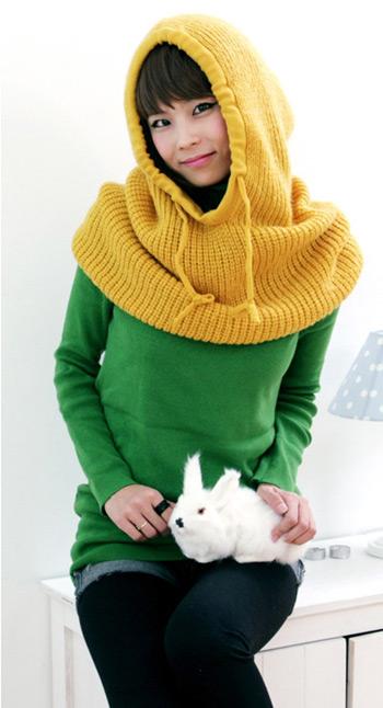 Những mẫu khăn ống đẹp nhất Đông 2011 - 12
