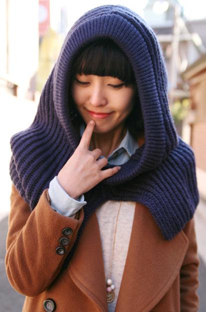 Những mẫu khăn ống đẹp nhất Đông 2011 - 16