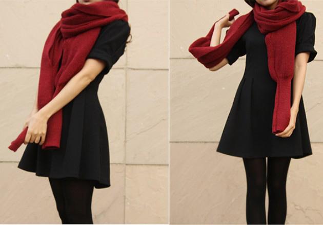 Những mẫu khăn ống đẹp nhất Đông 2011 - 18