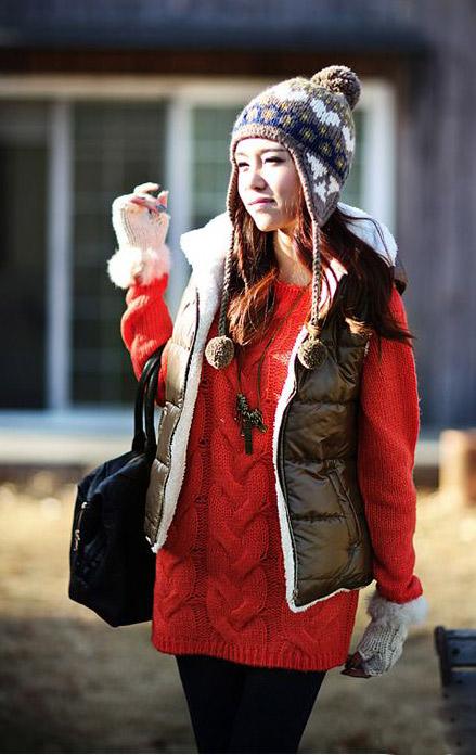 Quên đi giá rét với áo phao phồng ấm áp - 16