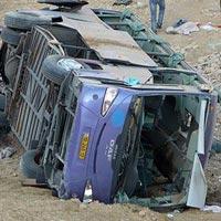 Tai nạn xe buýt, 16 hành khách tử vong