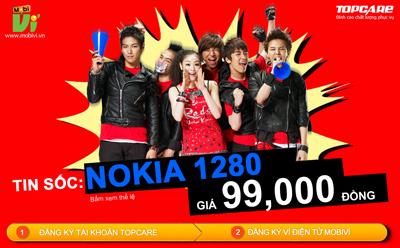 """Cư dân mạng """"cuồng nhiệt"""" với Nokia 1280 giá 99.000 đồng - 3"""