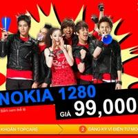"""Cư dân mạng """"cuồng nhiệt"""" với Nokia 1280 giá 99.000 đồng"""