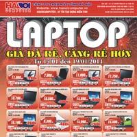 Hanoicomputer khuyến mại laptop, linh kiện mừng năm mới