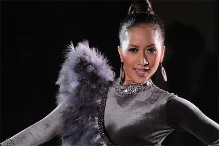 Kiện tướng dancesport Khánh Thi rớt nước mắt - 5