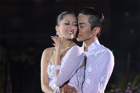 Kiện tướng dancesport Khánh Thi rớt nước mắt - 10