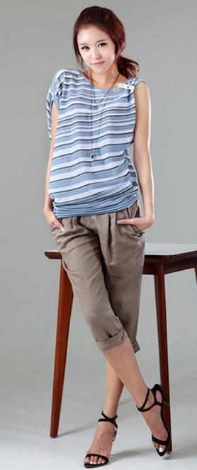 Đánh thức nét quyến rũ với áo lệch vai - 8