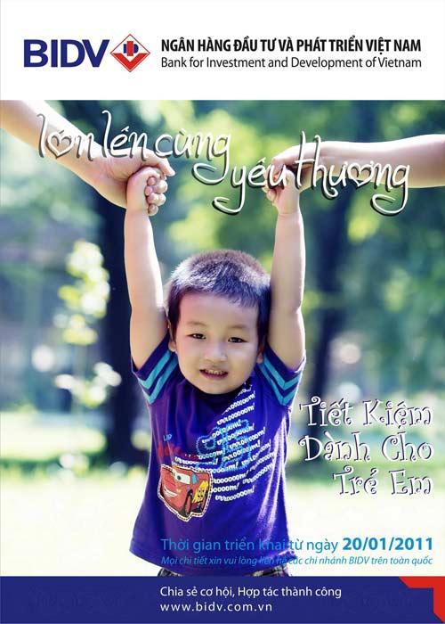 Tiết kiệm dành cho trẻ em: Lớn lên cùng yêu thương - 1