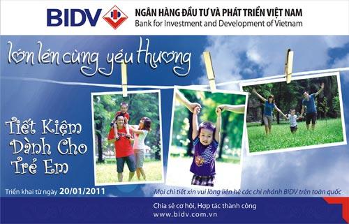 Tiết kiệm dành cho trẻ em: Lớn lên cùng yêu thương - 2