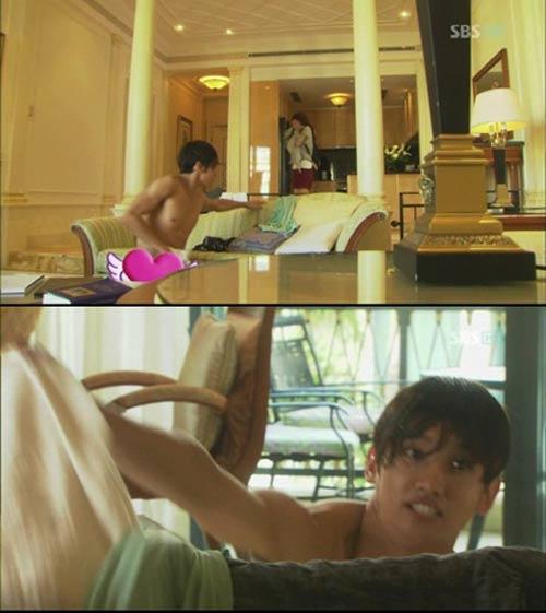 """Sao Hàn lại """"tấn công"""" bằng nude và ngực trần - 4"""