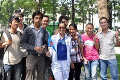 Khánh Thy và Nhan phúc Vinh đồng hành với Lữ khách 24h - 4