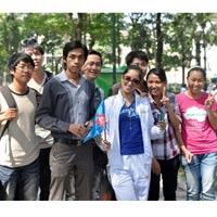 Khánh Thy và Nhan phúc Vinh đồng hành với Lữ khách 24h