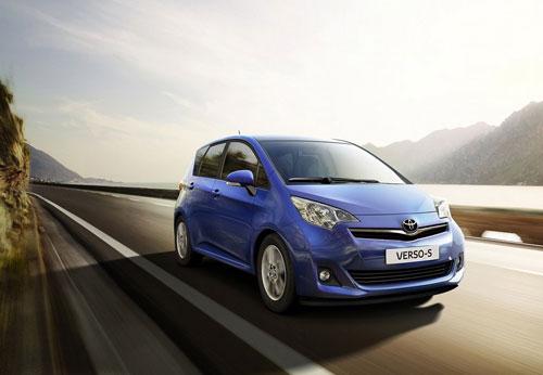 Công bố giá Toyota Verso-S 2011 - 1