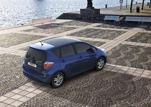 Công bố giá Toyota Verso-S 2011 - 3