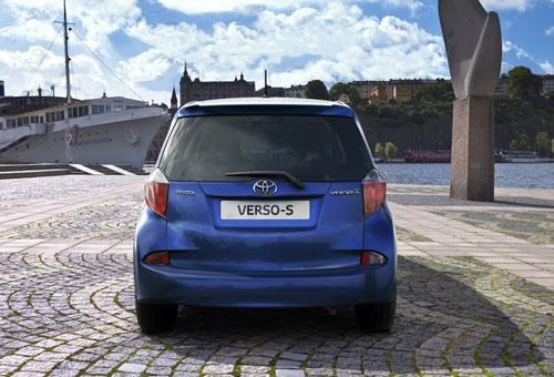 Công bố giá Toyota Verso-S 2011 - 8