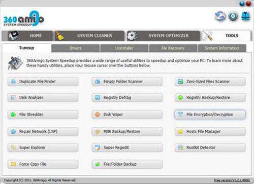 Chữa lỗi và tối ưu hệ thống với 360Amigo System Speedup Free - 4