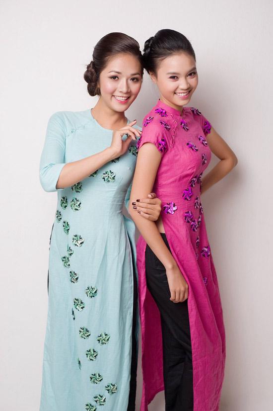 Mặc áo dài Tết đẹp như sao Việt - 12
