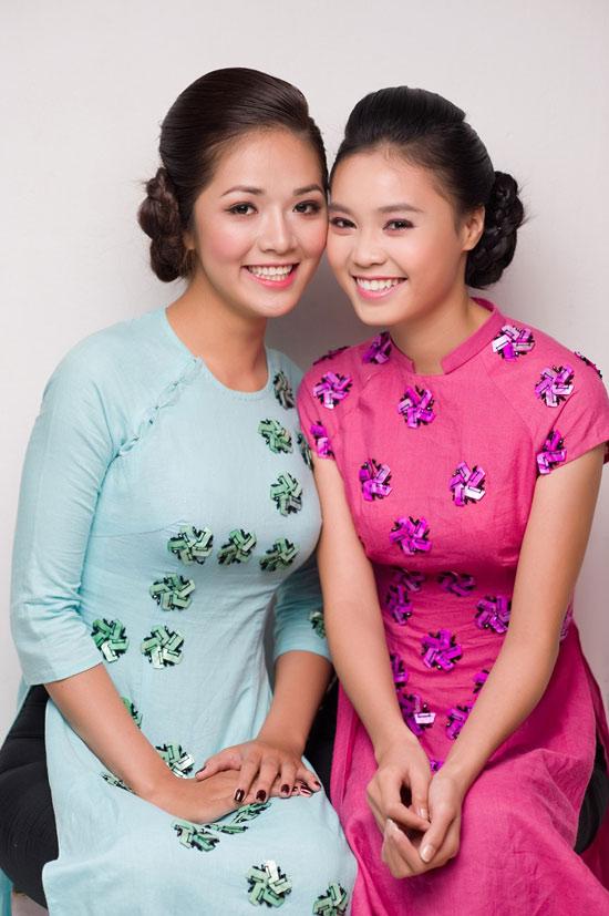 Mặc áo dài Tết đẹp như sao Việt - 15