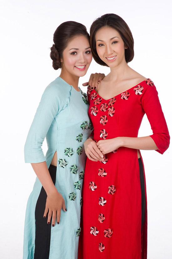 Mặc áo dài Tết đẹp như sao Việt - 16