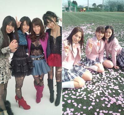 Nhóm nhạc teen Nhật Bản gây sốc với áo xuyên thấu - 1