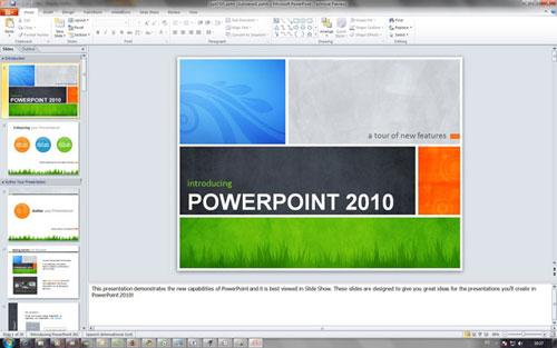 Tuyệt chiêu trình diễn trong PowerPoint 2010 - 1