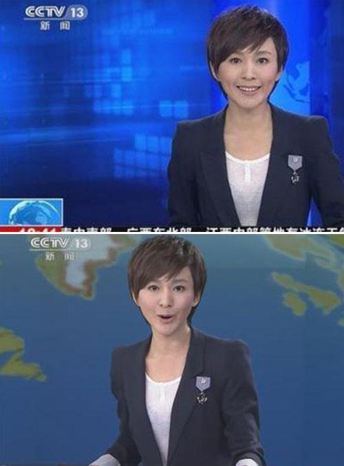 """MC truyền hình mặc áo """"xuyên thấu"""" - 2"""