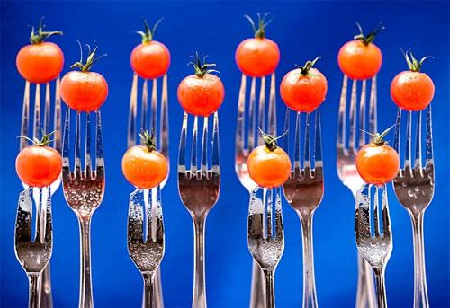 Giảm eo đẹp da với cà chua - 1