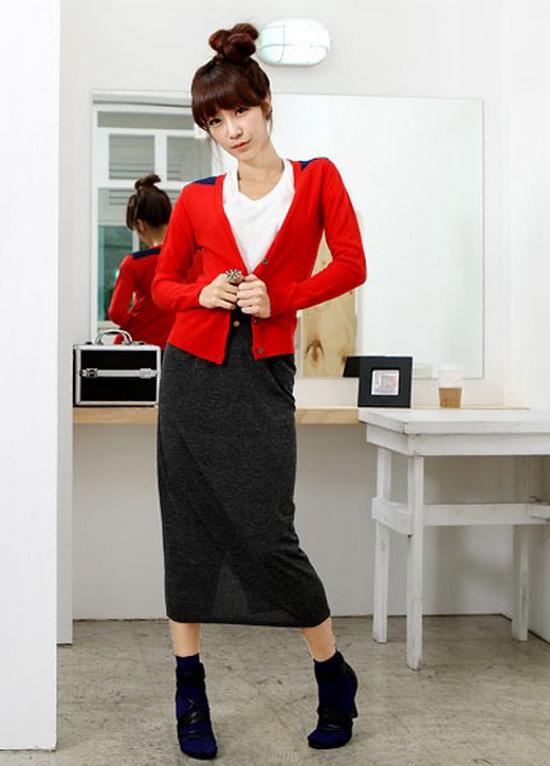 Mặc đẹp với đỏ và đen - 6