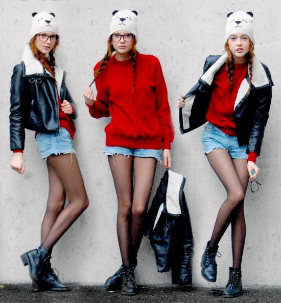 Mặc đẹp với đỏ và đen - 7