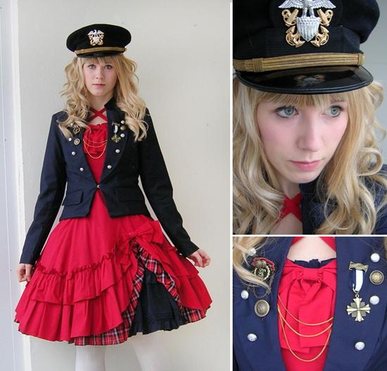 Mặc đẹp với đỏ và đen - 8