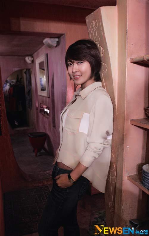 Ha Ji Won trở thành vận động viên bóng bàn - 2